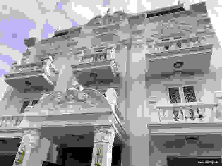 Nhà phố cổ điển bởi UK DESIGN STUDIO - KIẾN TRÚC UK Kinh điển