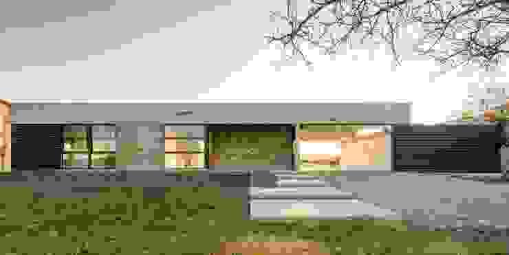 Casa Corzuelas Casas minimalistas de TECTUM Minimalista Hormigón