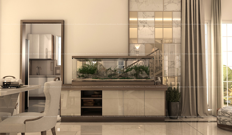 Aquascaping Classic style corridor, hallway and stairs by Fabmodula Classic