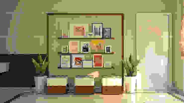 Paredes y pisos de estilo clásico de Fabmodula Clásico