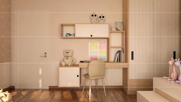 3BHK Interiors Classic style nursery/kids room by Fabmodula Classic