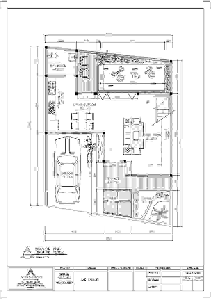 Pak Rahmat Residence:modern  oleh Arsitekpedia, Modern