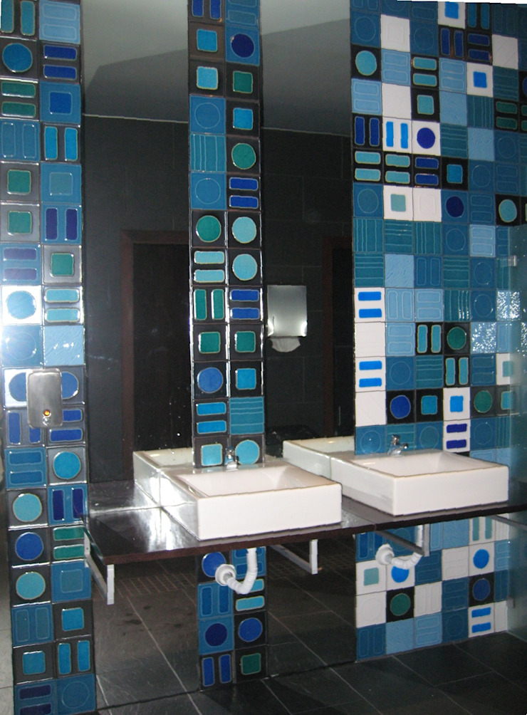 Massive Centros de exposições modernos por Atelier Ana Leonor Rocha Moderno