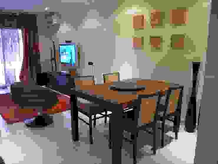 Moradia Praia da Galé 2003 Salas de jantar modernas por Atelier Ana Leonor Rocha Moderno