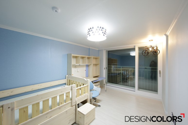 DESIGNCOLORS Nursery/kid's room Blue