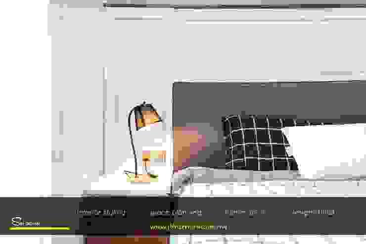 Paragon Suites@CIQ   Block A   Town   Johor Bahru   Condominium SIN Design Studio Country style bedroom