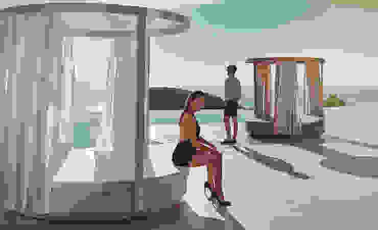VONDOM家具:享受露台設計,高檔戶外家具: 現代  by 北京恒邦信大国际贸易有限公司, 現代風