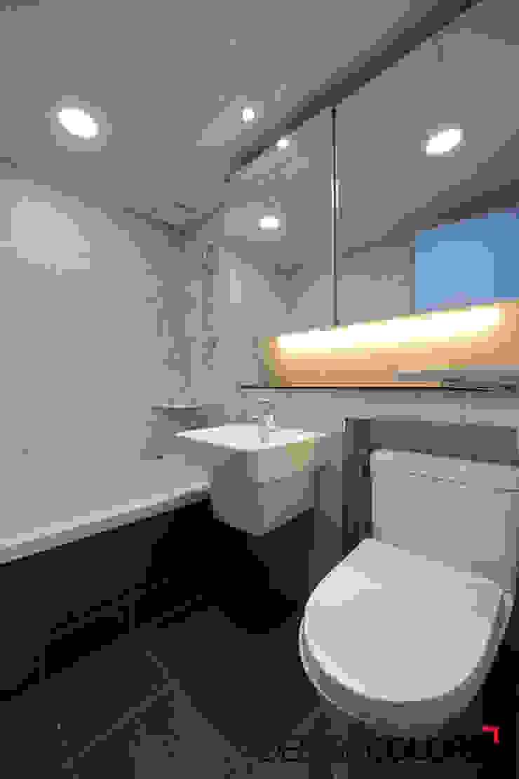 구로구 고척동 신원프라자 아파트인테리어 25평 모던스타일 욕실 by DESIGNCOLORS 모던