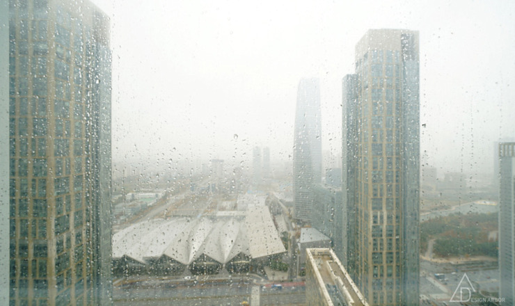 비오는 날이 잘 어울리는 차분한 그레이 인테리어 모던스타일 미디어 룸 by 디자인 아버 모던