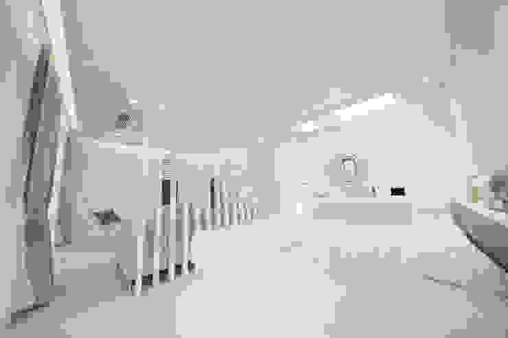 자곡동 J씨 하우스 모던스타일 침실 by designforn 모던 대리석