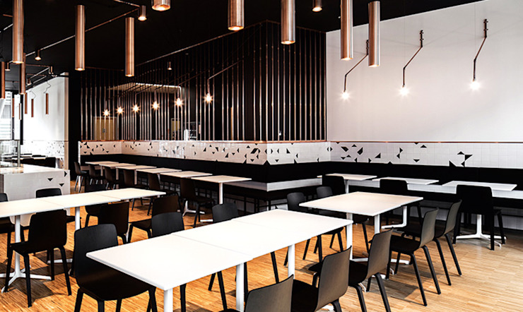 Arper家具簡約設計時尚風格,現代潮流品質: 現代  by 北京恒邦信大国际贸易有限公司, 現代風