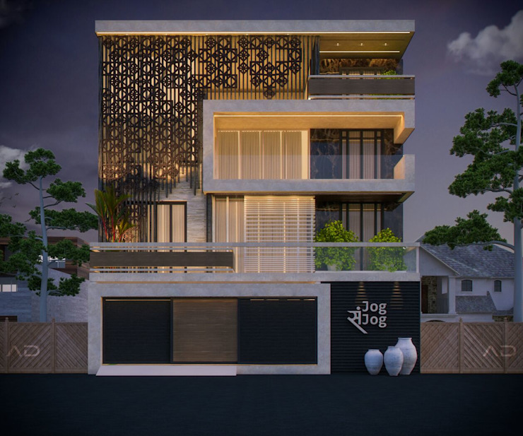 21 Stunning Modern Indian House Exterior Design Ideas