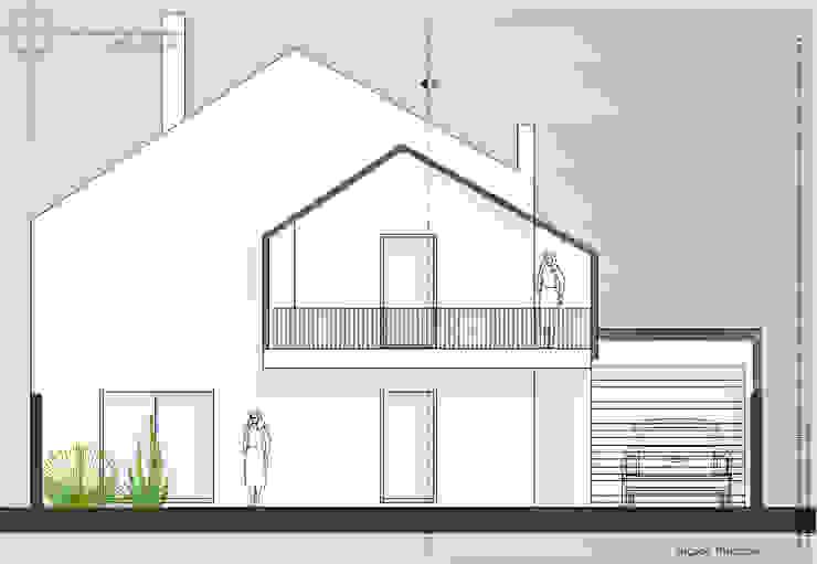 منزل عائلي صغير تنفيذ Teresa Ledo, arquiteta
