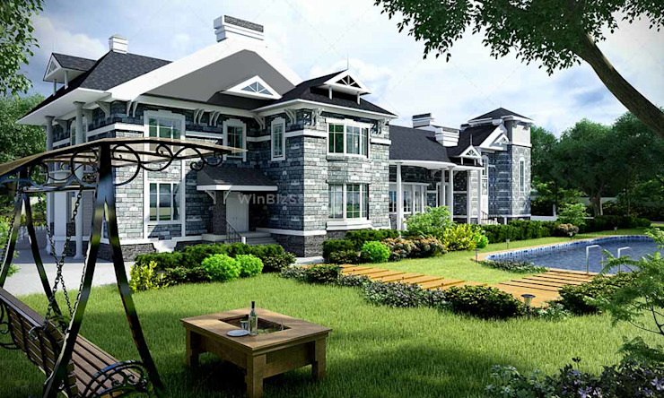 3D exterior design by winbizsolutions