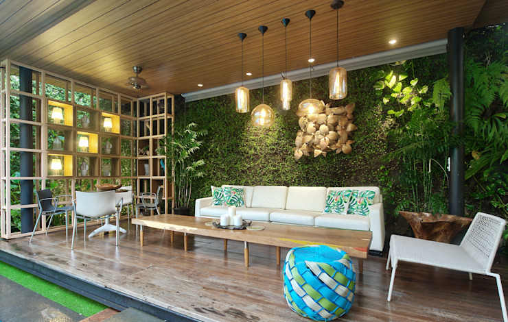 Residence – Bobos Balkon, Beranda & Teras Tropis Oleh Bobos Design Tropis