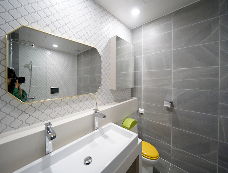 안방욕실 모던스타일 욕실 by 디자인 아버 모던