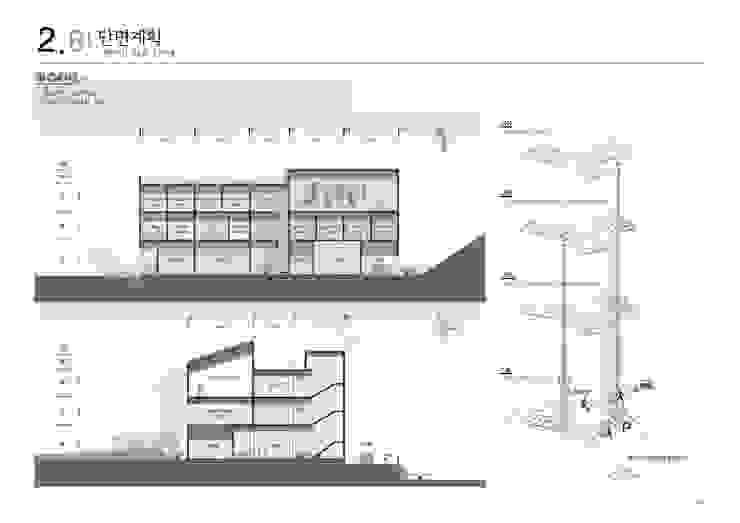 강북구 보훈회관 (우수상): 건축일상의 현대 ,모던