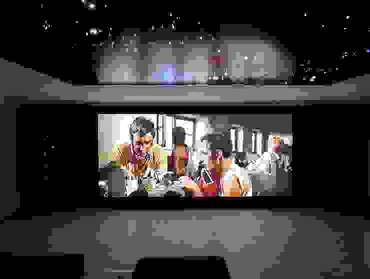 Projection Dreams / CUSTOM CINEMA 360 LDA 家庭劇院 MDF Purple/Violet
