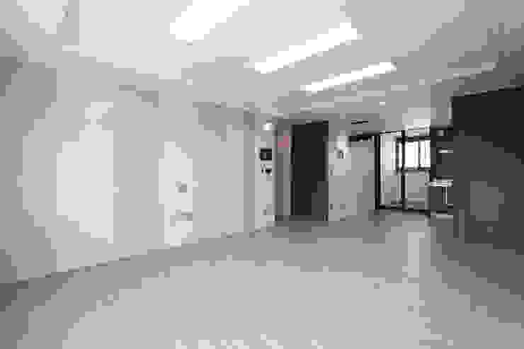 세곡동 푸르지오 34평 모던스타일 거실 by 한 인테리어 디자인 모던
