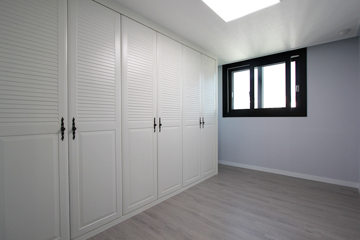 세곡동 푸르지오 34평 모던스타일 미디어 룸 by 한 인테리어 디자인 모던
