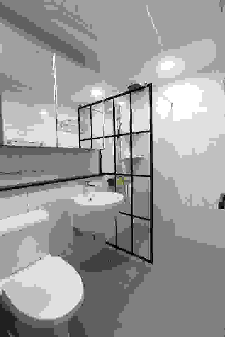 세곡동 푸르지오 34평 모던스타일 욕실 by 한 인테리어 디자인 모던