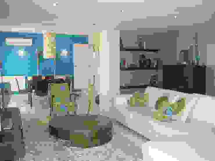 Apartamento Galé 1 Salas de estar modernas por Atelier Ana Leonor Rocha Moderno