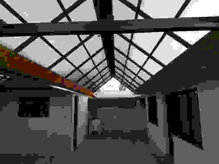 Quincho Molina Eduardo Ibarra Brito Balcones y terrazas modernos