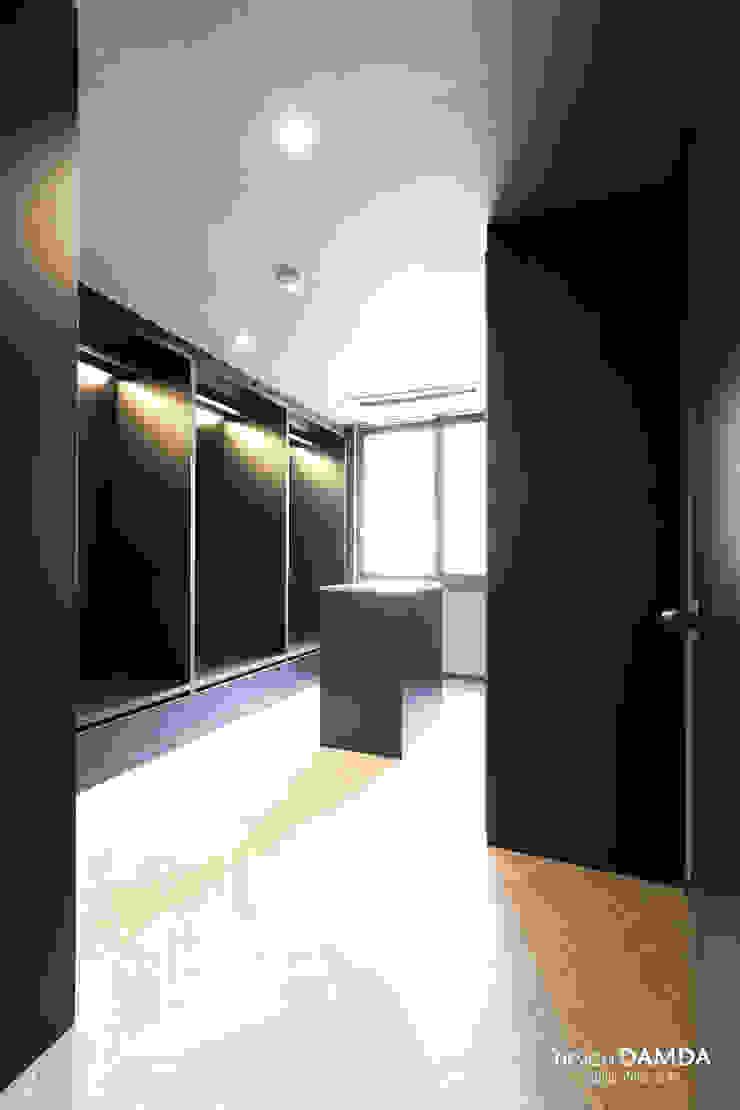 하남시 덕풍동 더샵센트럴뷰 34평 모던스타일 드레싱 룸 by 디자인담다 모던