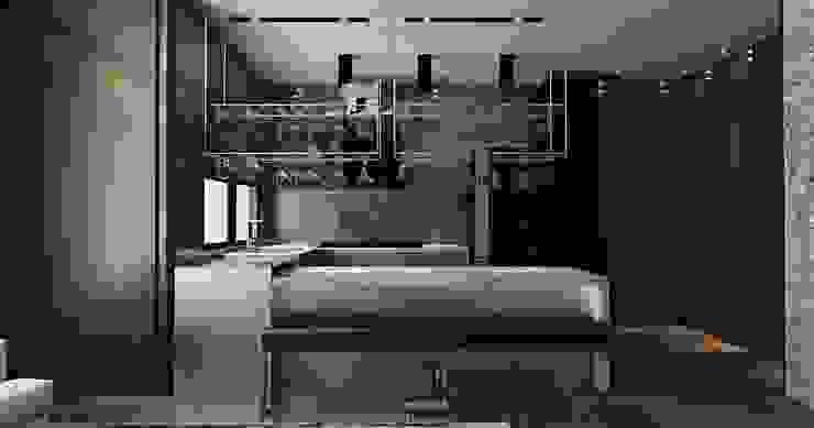 Espaces commerciaux modernes par 維斯空間創研有限公司 Moderne Marbre