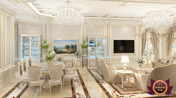 Astounding Interior Design by Luxury Antonovich Design