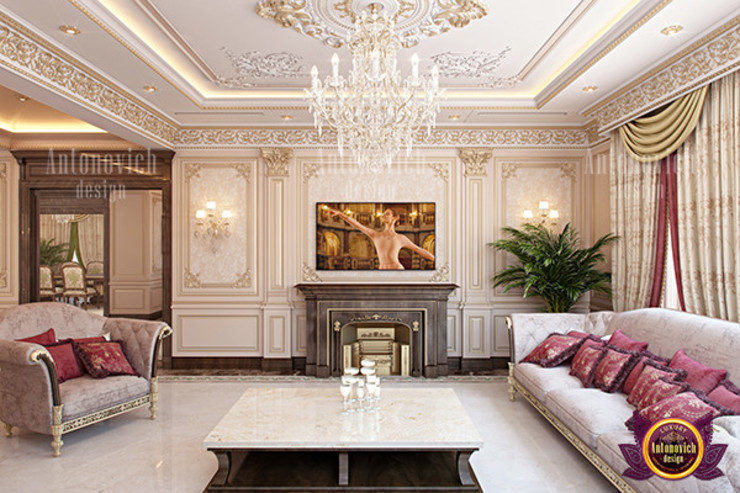 Wonderful Interior Design by Luxury Antonovich Design