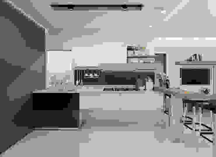 Diseño y decoración de apartamento nuevo de Cindy Castañeda Moderno