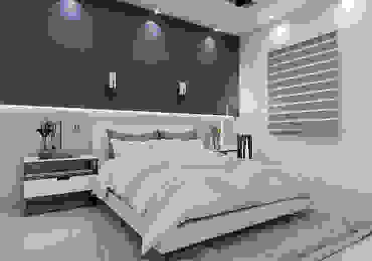 Diseño y decoración de apartamento nuevo Dormitorios de estilo moderno de Cindy Castañeda Moderno