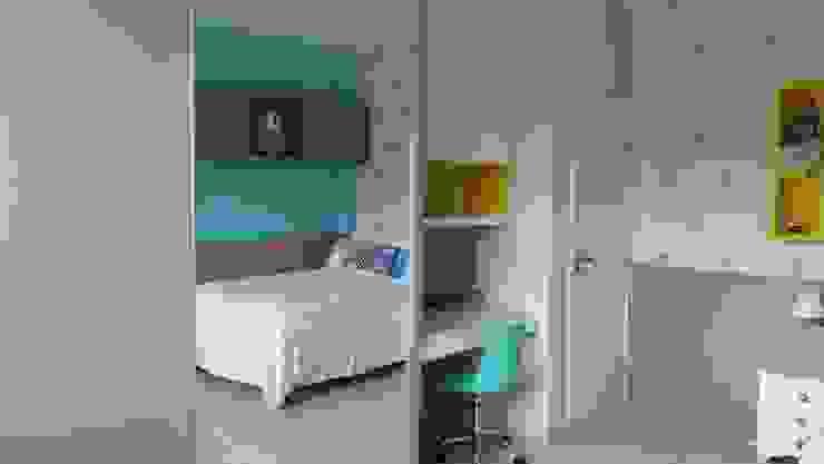 Rita Corrassa - design de interiores ห้องนอนเด็กตู้เสื้อผ้า