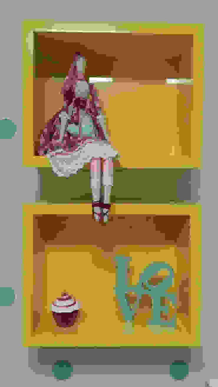 Rita Corrassa - design de interiores ห้องนอนเด็กของตกแต่งและอุปกรณ์จิปาถะ Yellow