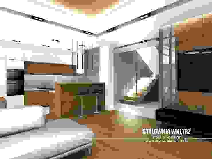 Stylownia Wnętrz Stairs Wood effect
