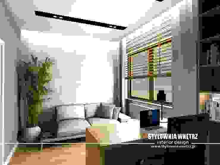 Stylownia Wnętrz Modern style study/office Wood effect