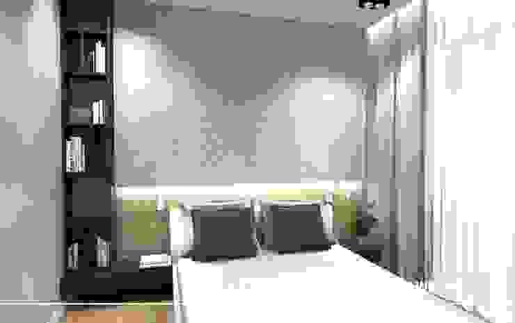 Stylownia Wnętrz Modern style bedroom Grey