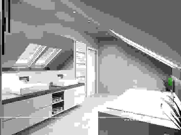 Stylownia Wnętrz Modern style bathrooms Beige