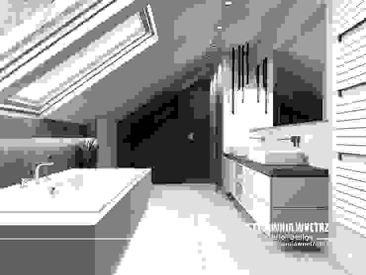 Stylownia Wnętrz Modern style bathrooms