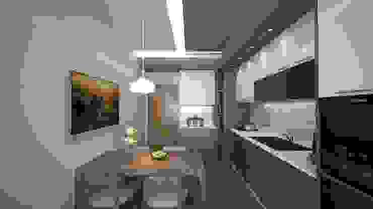 Meteor Mimarlık & Tasarım Кухня