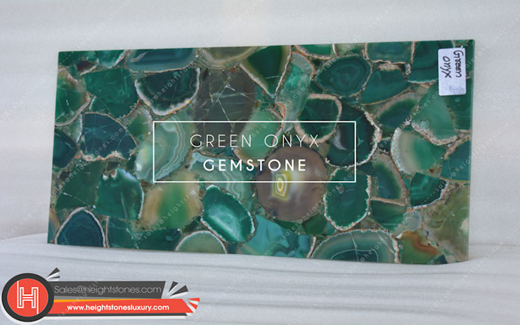 Green Onyx Stone Height Stones