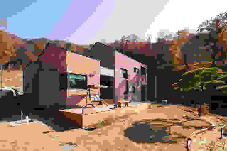주택 외관 by 위드하임 모던 벽돌