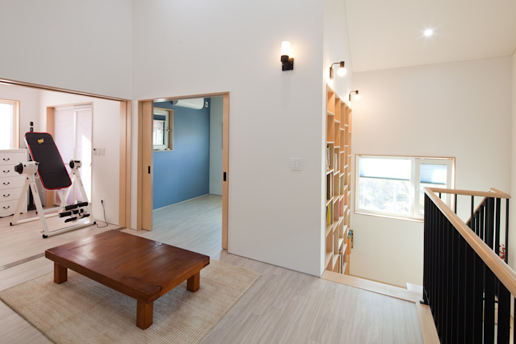 Living room by 위드하임, Modern