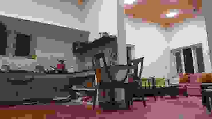RETIERMENT HOME AT KANCHIPURAM One Brick At A Time Minimalist kitchen