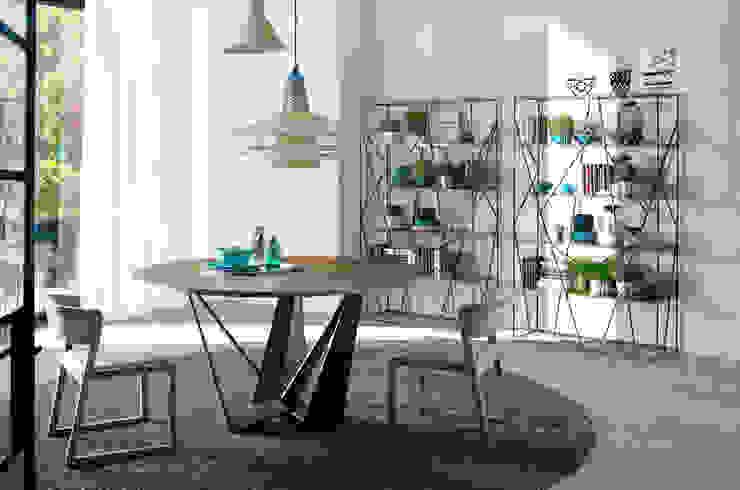 Comedor moderno y de diseño de la colección Atelier by Angel Cerdá de ANGEL CERDA Moderno Madera Acabado en madera