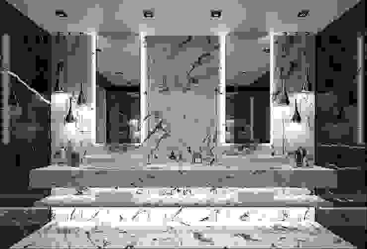 Baños de estilo moderno de FA - Fehmi Akpınar İç Mimarlık Moderno