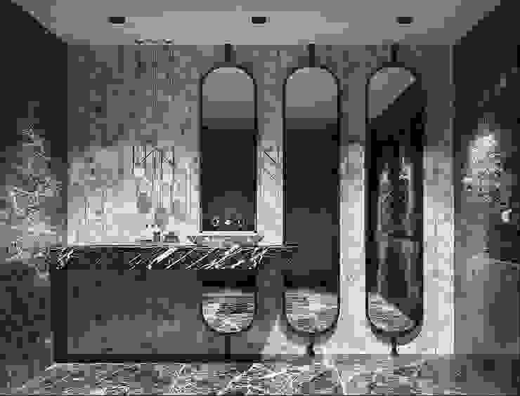 FA - Fehmi Akpınar İç Mimarlık  – Banyo - Türk Hamamı:  tarz Banyo, Modern