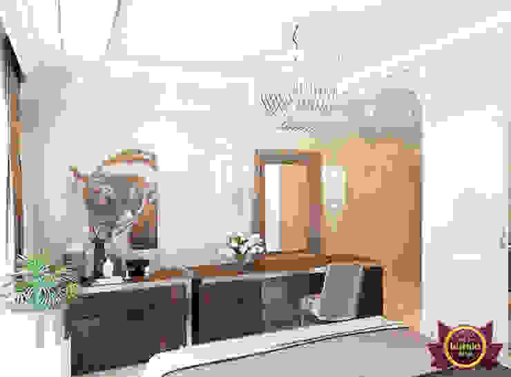 AMAZING BROWN THEME BEDROOM by Luxury Antonovich Design