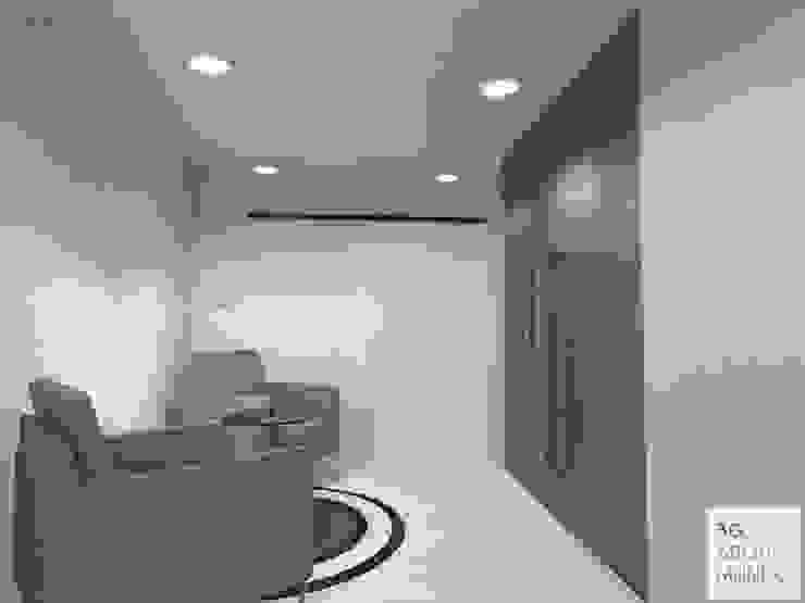 Espacio de trabajo compartido:  de estilo  por Arquimundo 3g - Diseño de Interiores - Ciudad de Buenos Aires